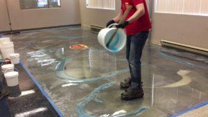 أرضيات إيبوكسي (Epoxy flooring)