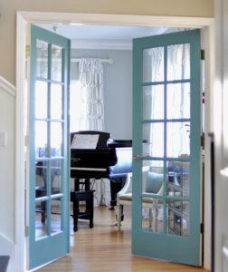 أبواب زجاجية