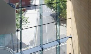 Structural Glazing with insulation glass